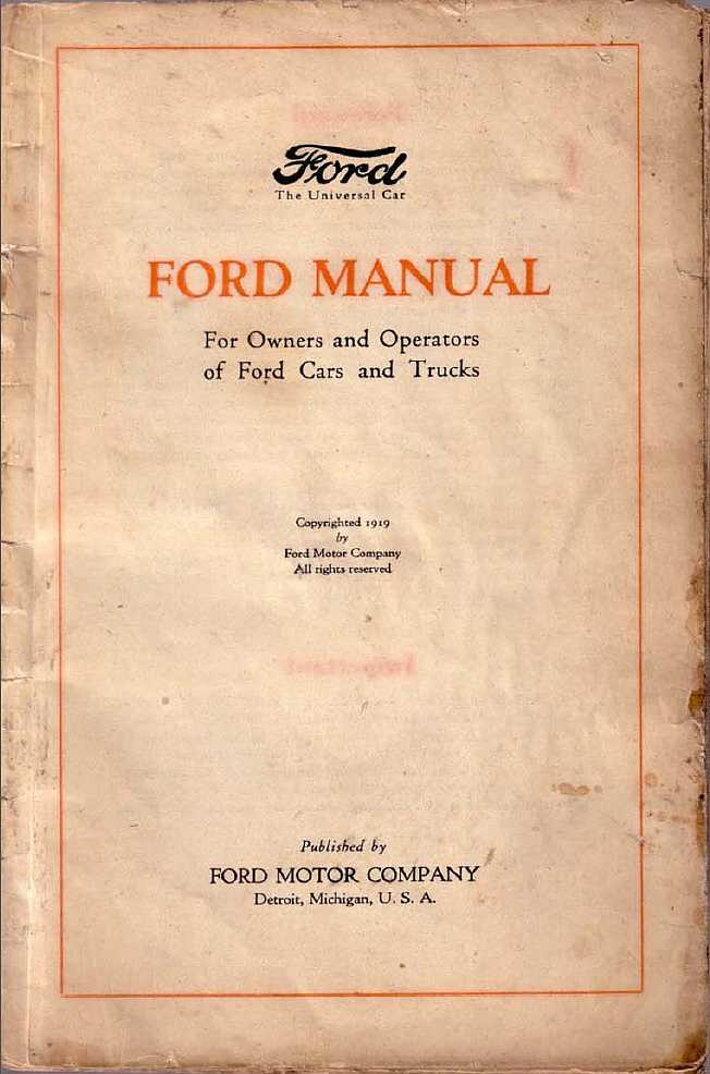 ford model t auto rh ed thelen org 1922 ford model t owners manual 1921 model t owners manual