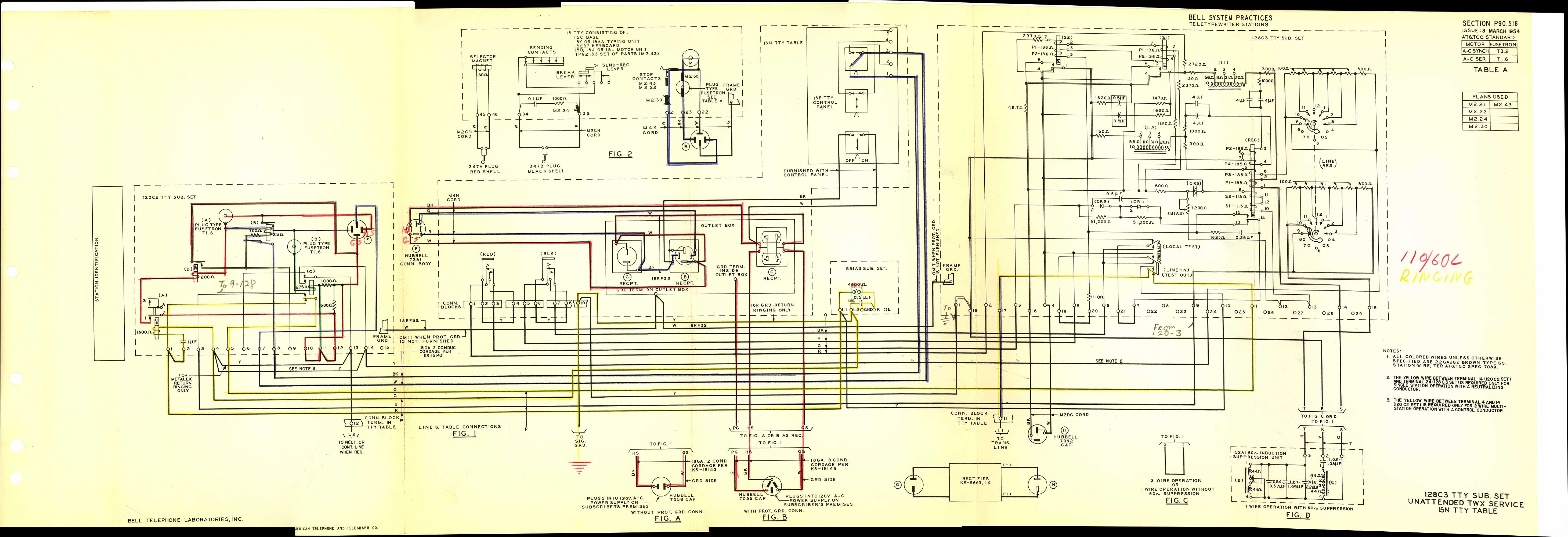 Teletype 28 S 15 teletype mod 28 maintenance manual bell systems 801 wiring diagram at soozxer.org