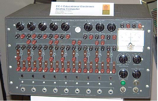 Heathkit EC-1 Educational Electronic Analog Computer
